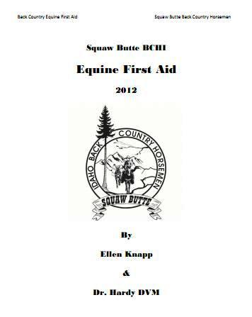 Equine First Aid Manual